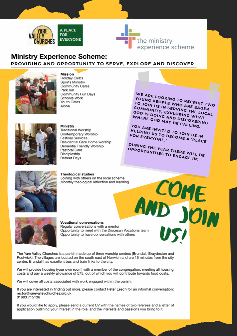 Ministry experience scheme